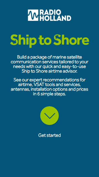 Ship to Shore mobile splash screen